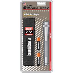 Linterna Maglite Mini Maglite Pro 2AA LED con colgador.