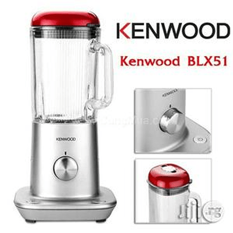 Licuadora Kenwood BLX51 800 watts potencia vaso vidrio