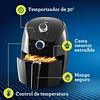 Mini freidora de aire Oster® de 1.5 litros CKSTAF15B
