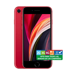 "iPhone SE 64GB Red 4.7"" Liberado rojo"