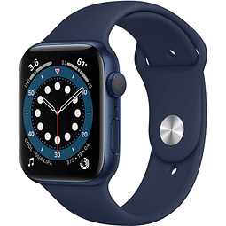 Apple Watch Serie 6 (GPS, 44mm, azul Aluminio, correa Sport Band azul) MOOJ3LL/A