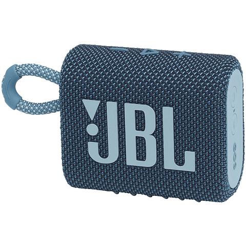 Parlante JBL Go 3 Portable Bluetooth Azul