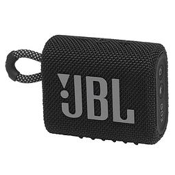 Parlante JBL Go 3 Portable Bluetooth Negro