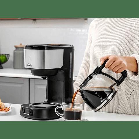 Cafetera Espresso Programable Oster 8 Tazas BVSTDC10SS