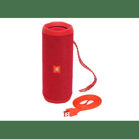 JBL Flip 4 Altavoz Bluetooth portátil color Rojo