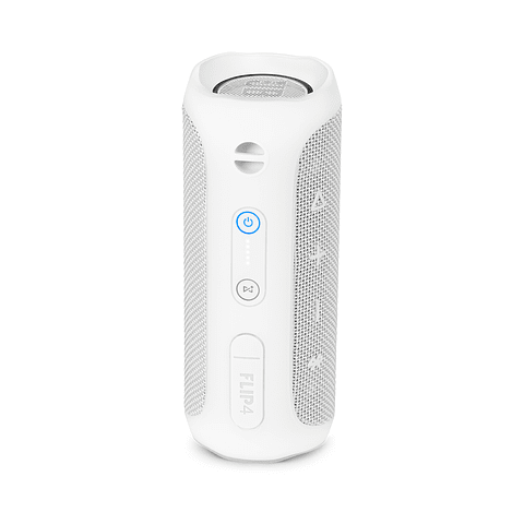 JBL Flip 4 Altavoz Bluetooth portátil color blanco