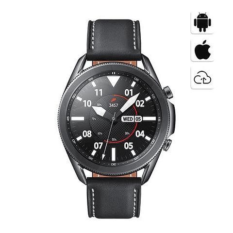 Samsung® Smartwatch Samsung Galaxy Watch 3 45mm Mystic Black  R840