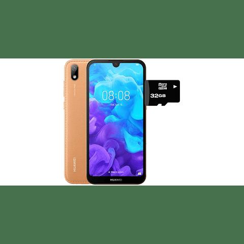 Celular Huawei Y5 2019 AZUL RAM2GB/ROM32GB + MEMORIA 32GB DE REGALO