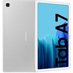 "Samsung Tablet Galaxy Tab A7 10.4"" 64GB, LTE color Plateado (2020)"