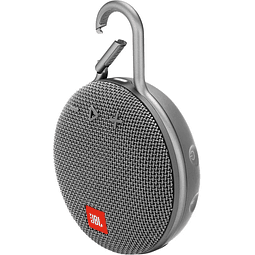 PARLANTE JBL CLIP 3, COLOR GRIS BLUETOOTH
