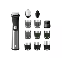 Regulador barba Philips 12 en 1, vello facial y corporal, y cabello MG7735/15