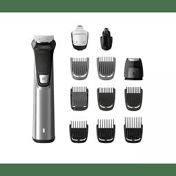 Regulador barba Philips 12 en 1, vello facial y corporal, y cabello MG7735/15