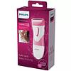 SatinShave Essential Philips Afeitadora eléctrica para uso en seco y húmedo HP6306/00