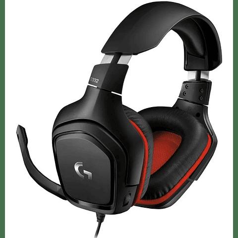Audifono Gamer Logitech G332 Pc/ps3/ps4/xone/movil/switch