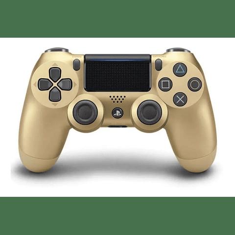 Control Dualshock Playstation 4 Dorado