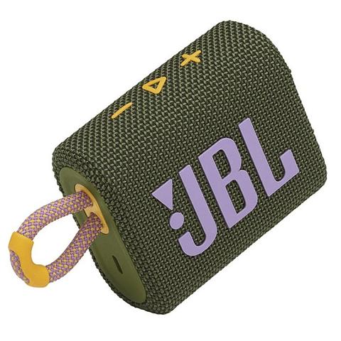 Parlante JBL Go 3 Portable Bluetooth Verde