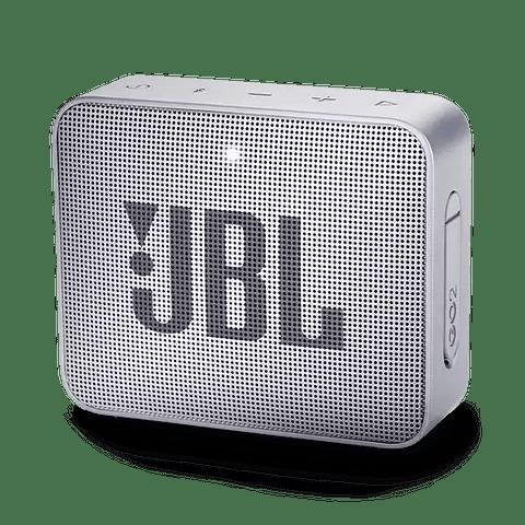 Parlante Bluetooth JBL GO2 color Gris (estuche de regalo)