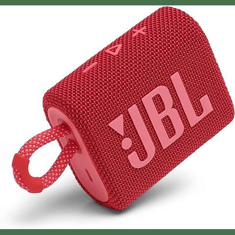 Parlante JBL Go 3 Portable Bluetooth Rojo