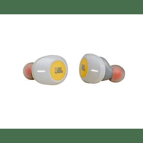 AUDÍFONO JBL TUNE T120 TWS TRUE WIRELESS IN-EAR AMARILLO