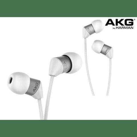 OFERTA Audifono AKG Y23 color blanco con mic