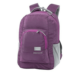 Mochila Morral Emotion Nero De 28 Litros Samsonite Morado Q50012014