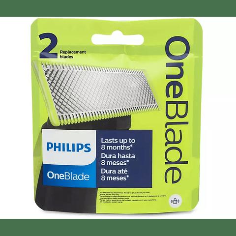 OneBlade Cuchilla reemplazable QP220/51 (2 UNIDADES)