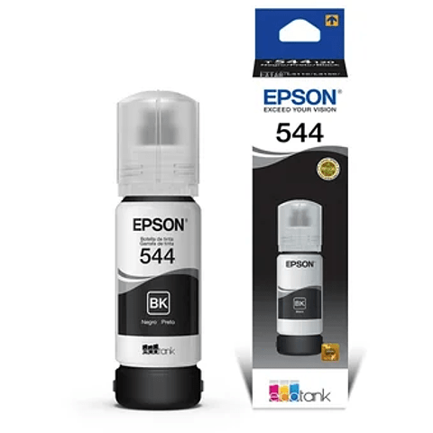 Epson® Tintas-Botellas T544 venta individual por botella color (NEGRO