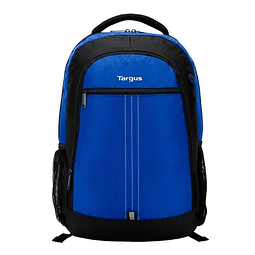 Mochila Targus City 15,6 - Negro/azul Tsb89002