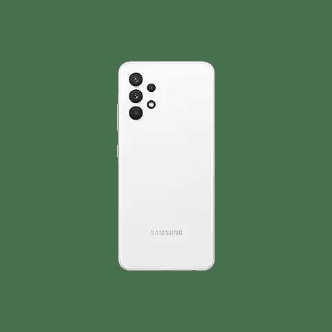 Samsung celular Galaxy A32 (128GB, 4GB) 6.4″ COLOR BLANCO Super AMOLED 90Hz Display, 64MP Dual SIM GSM  A325M/DS