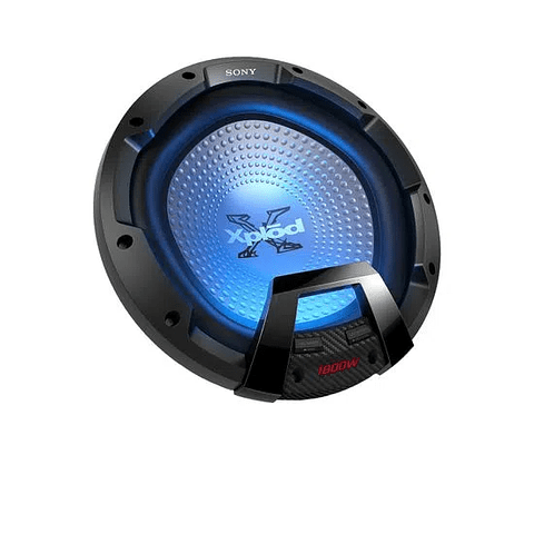 "Subwoofer SONY de 30 cm (12"") con iluminación XS-LEDW12//CU"