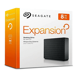 Disco Duro Externo Seagate Expansion 8tb Original 3.5""