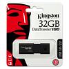 Pendrive 32GB Kingston DataTraveler® 100 G3 (DT100G3) USB 3.0, con tapa deslizante