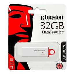Pendrive Kingston 32gb Usb 3.0 / 3.1 Datatraveler