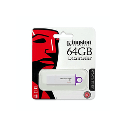 Pendrive Kingston 64gb Usb 3.0 / 3.1 Datatraveler