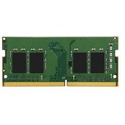 Memoria Ram Kingston ValueRAM 8GB DDR4 3200MHz, CL22, SODIMM, 1.2V KVR32S22S6/8