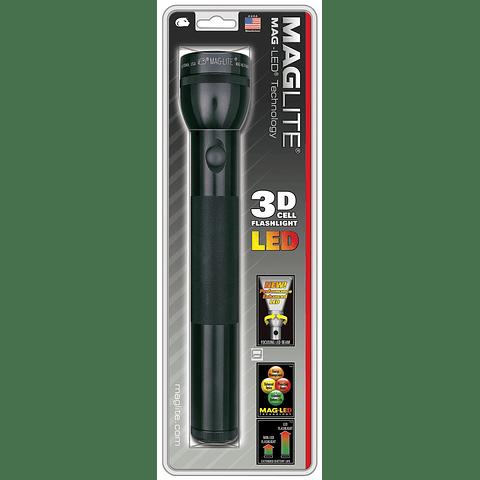MAGLITE ST3D016, linterna LED de batería D-cell, 3D, color negro