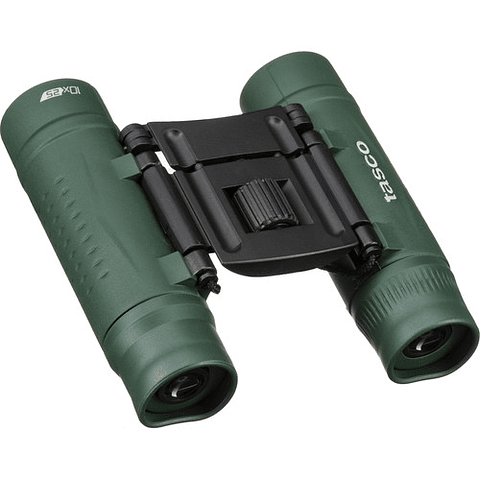Tasco 10x25 Essentials Compact Binoculares (VERDE) 168125G
