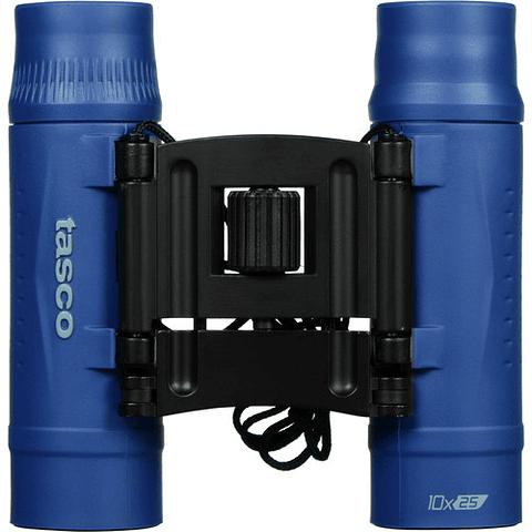 Tasco 10x25 Essentials Compact Binoculares (AZUL) 168125BL