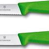 Cuchillo Verduras 2 Unidades Dentado+Liso Rosado 10 cms Victorinox - 6.7796.L4B