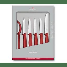 Set de cuchillosVictorinox Swiss Classic, 6 piezas 6.7111.6g