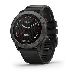 Garmin  Reloj fenix 6X Sapphire Carbon Gray 51MM ZAFIRO 010-02157-19