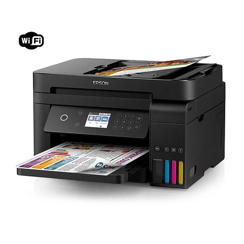 Impresora Epson® Multifuncional Tinta Continua EcoTank L6171 WiFi-Direct / Ethernet / Dúplex