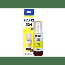 Epson Tinta T504 Amarillo T504