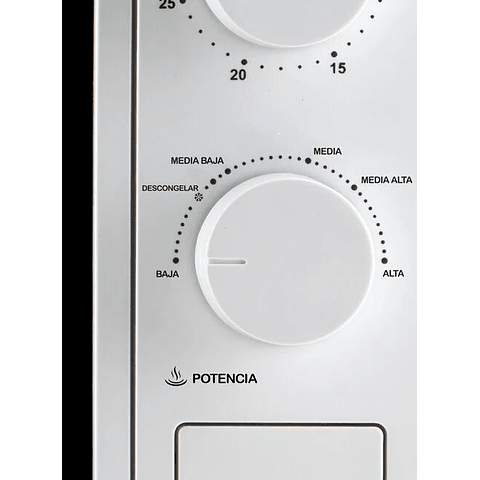 Microondas Análogo  18 LIitros Thomas TH18B05