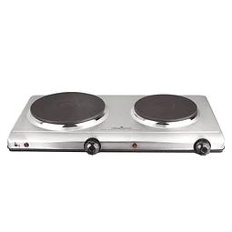 Cocina Eléctrica Portátil Magefesa Dinamic Inox Duo 8022