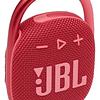 JBL  Parlante Portátil JBL Bluetooth Clip 4 ROJO