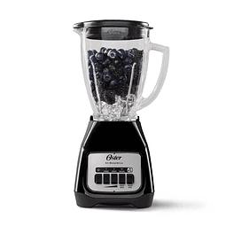 Licuadora Oster® 2 velocidades más pulso y vaso de vidrio BLSTKAGB