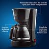 Cafetera Oster® de 5 tazas con filtro permanente BVSTDC05