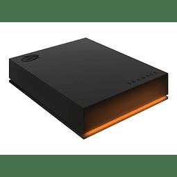 Seagate FireCuda STKL1000400 - Disco duro - 1 TB - externo (portátil) - USB 3.0 - 5400 rpm GAMING RGB