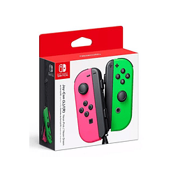 Control Joy Con Nintendo Switch rosado/verde